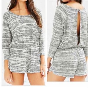 Urban Outfitters BDG sweater open back romper